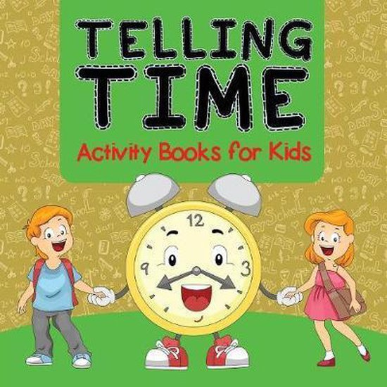 Telling Time Activity Books for Kids