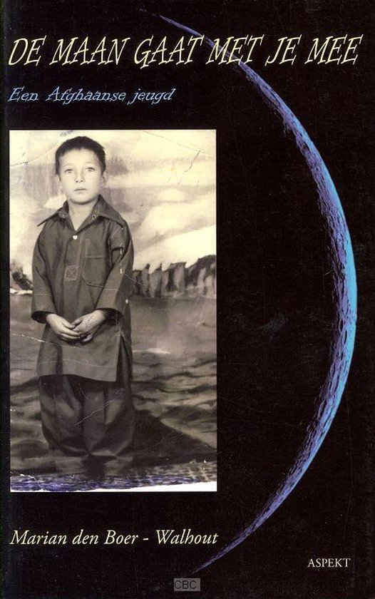 Cover van het boek 'De maan gaat met je mee' van Marian den Boer-Walhout