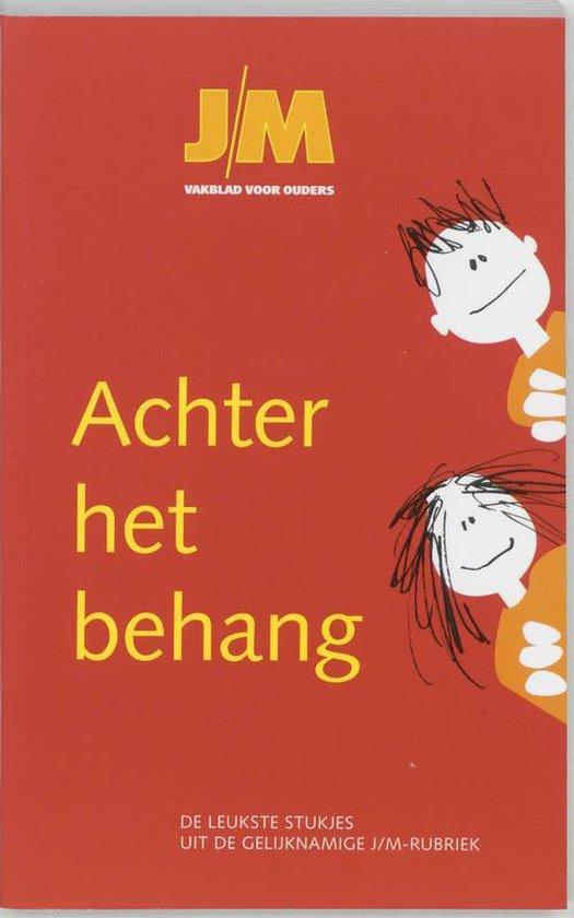 Cover van het boek 'Achter het behang'