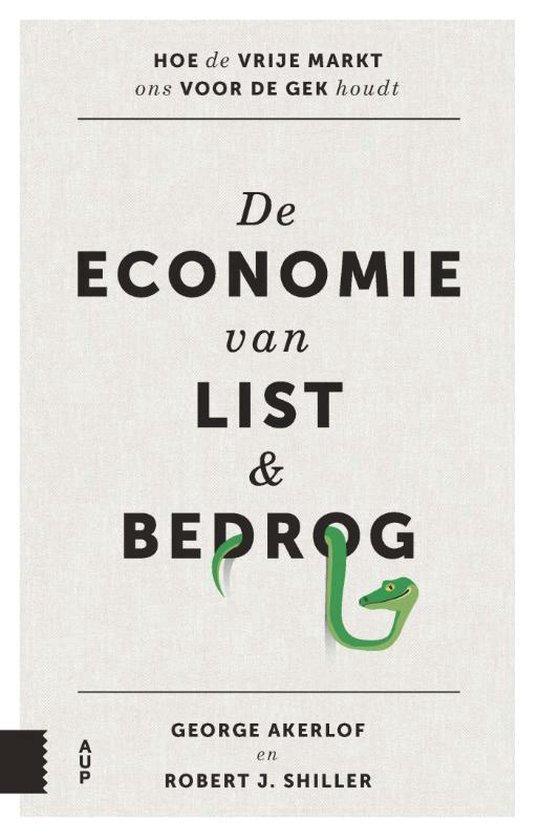 Boek cover De economie van list en bedrog van Robert J. Shiller (Paperback)