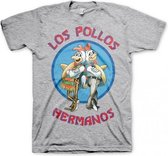 T-shirt Breaking Bad Los Pollos grijs S
