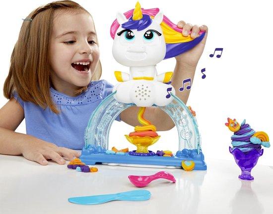 Play-Doh Drollendraaiende IJseenhoorn - Klei Speelset
