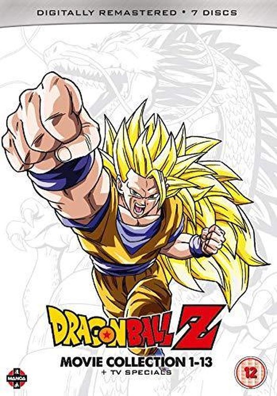 Dragon Ball Z: Movie Collection 1-13 + Tv Specials