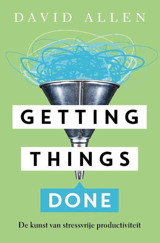 Boek cover Getting things done van David Allen (Onbekend)