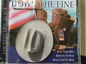 1-CD VARIOUS - DOWN THE LINE
