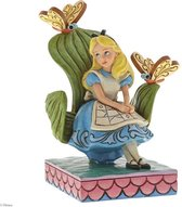 Disney Traditions Beeldje Curiouser and Curiouser 14 cm