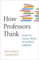 How Professors Think