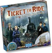 Ticket to Ride UK & Pennsylvania - Uitbreiding - Bordspel