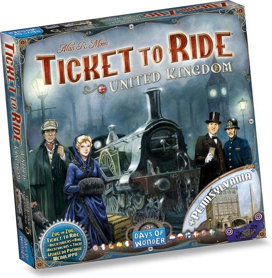 Ticket to Ride UK & Pennsylvania - Uitbreiding