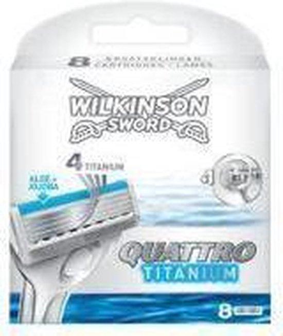 Wilkinson quattro titanium next generation navulmesjes 8st