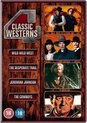 4 Classic Westerns (Wild Wild West / The Desperate Trail / Jeremiah Johnson / The Cowboys