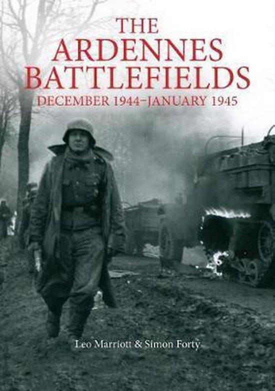 Boek cover The Ardennes Battlefields van Simon Forty (Hardcover)