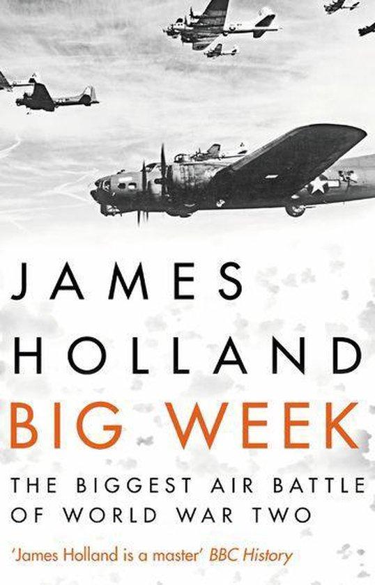 Boek cover Big Week van James Holland (Onbekend)