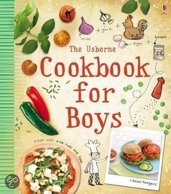 Boek cover The Cookbook For Boys van Abigail Wheatley (Onbekend)