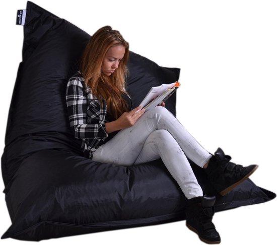 Drop & sit zitzak - Zwart - 100 x 150 cm