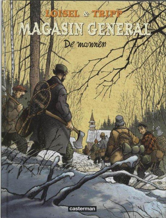 Cover van het boek 'De mannen' van J. Tripp en R. Loisel