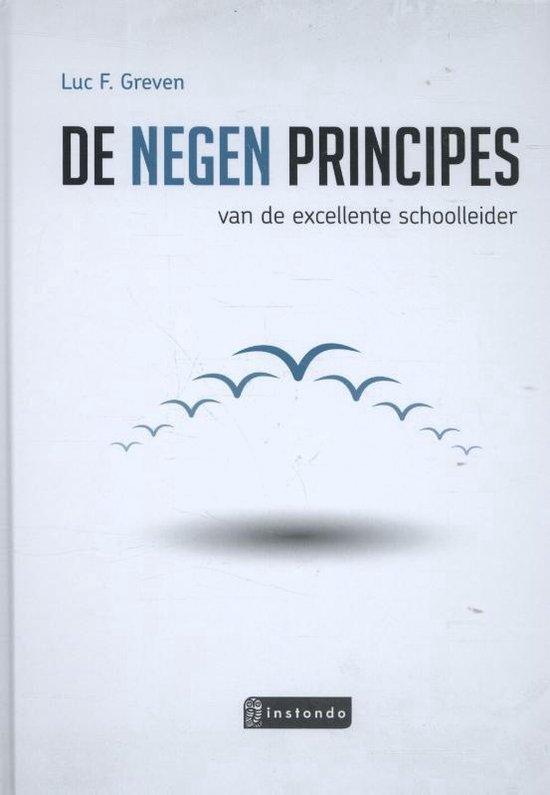 TIBtools - De 9 principes van de excellente schoolleider - Luc F. Greven  