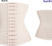 Saizi beige /Waist Trainer - M - Buik Korset Belt - Body Shaper Trimmer Corset Band - Shapewear