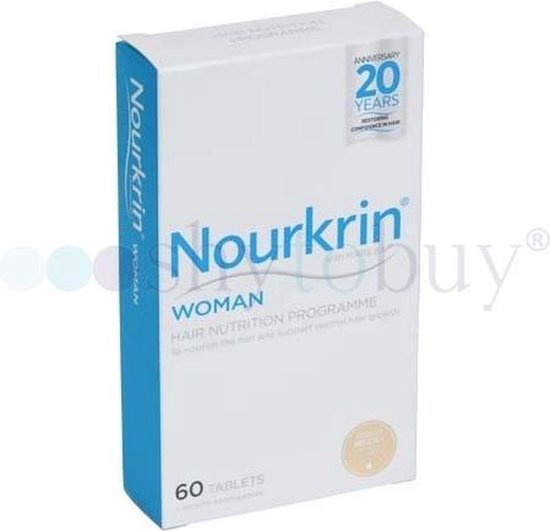 Nourkrin Vrouwen - Supplementen tegen haaruitval