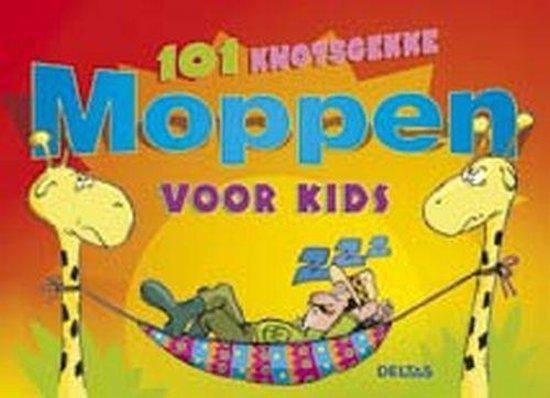 Cover van het boek '101 knotsgekke moppen voor kids' van Jolanda Jager