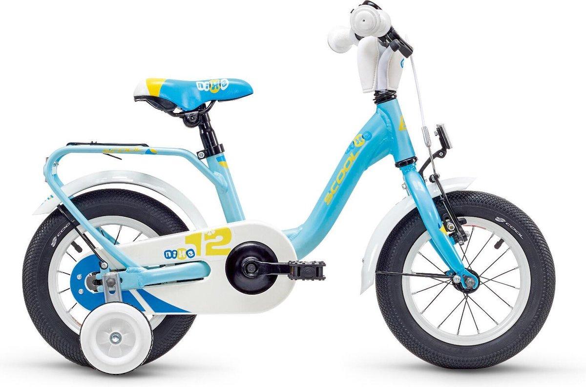 S'cool Kinderfiets 12 inch  niXe alloy 12 lightblue matt online kopen