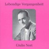 Lebendige Vergangenheit: Giulio Neri