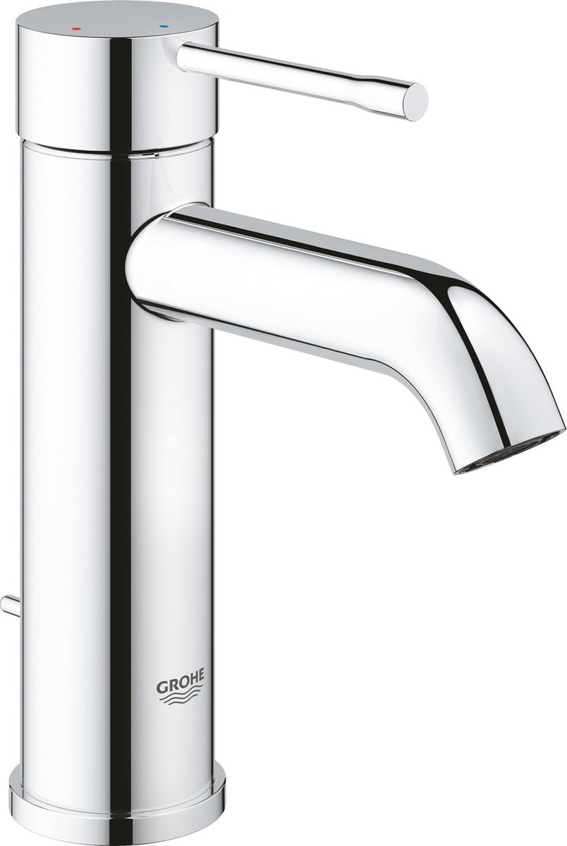 GROHE Essence New Wastafelkraan - Lage uitloop - Met trek-waste