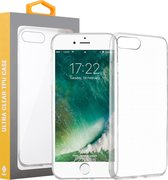 iPhone 7 Plus / 8 Plus Transparant Silliconen TPU Hoesje Cover Case