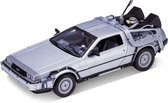 Modelauto DeLorean - Back to the Future I 1:24