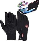 B Forest Unisex Touchscreen Fietshandschoenen - Zwart - Maat M