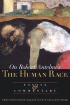 Boek cover On the Human Race van Robert Antelme