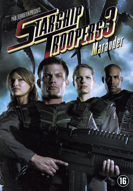 Cover van de film 'Starship Troopers 3: Marauder'