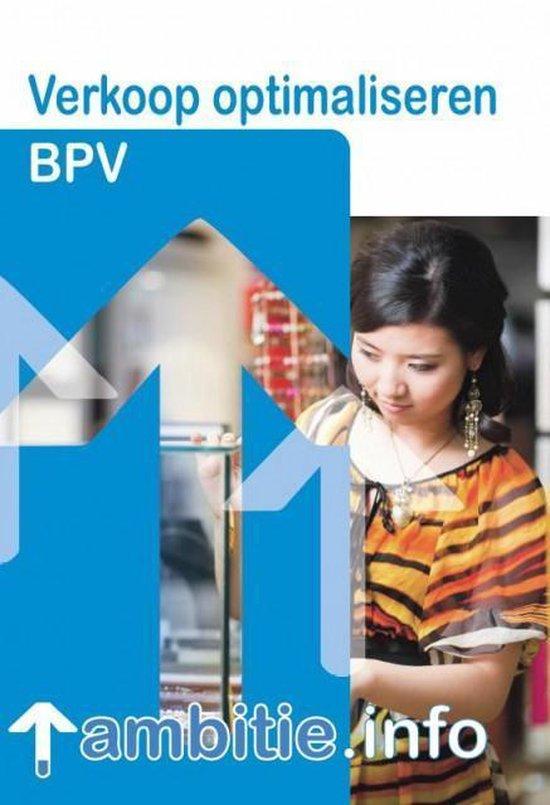 BPV Verkoop optimaliseren - M. Steenbergen  