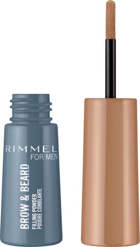 Rimmel for Men Brow & Beard Filling Powder - Blond - Wenkbrauwpoeder - Baardvulling