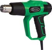 Hofftech 008682 Heteluchtpistool - 2000 W - Incl. koffer - Incl. 4 mondstukken en schraper