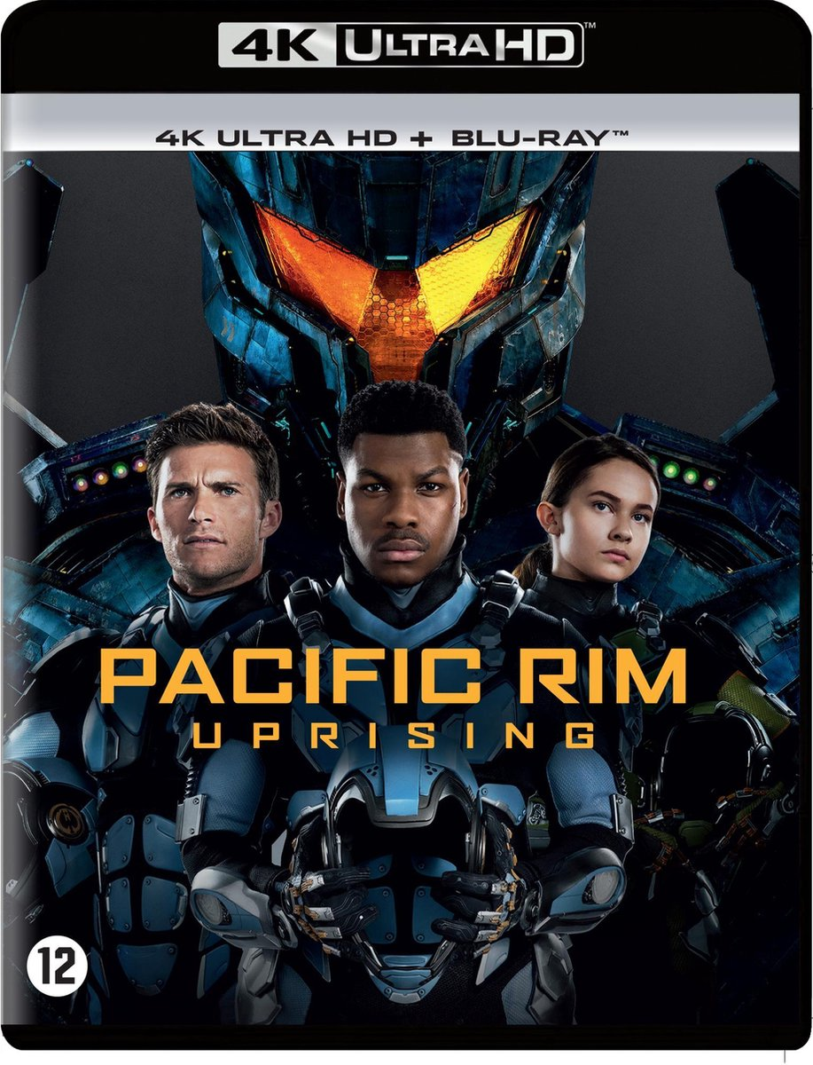 Pacific Rim 2 - Uprising (4K Ultra HD Blu-ray)-