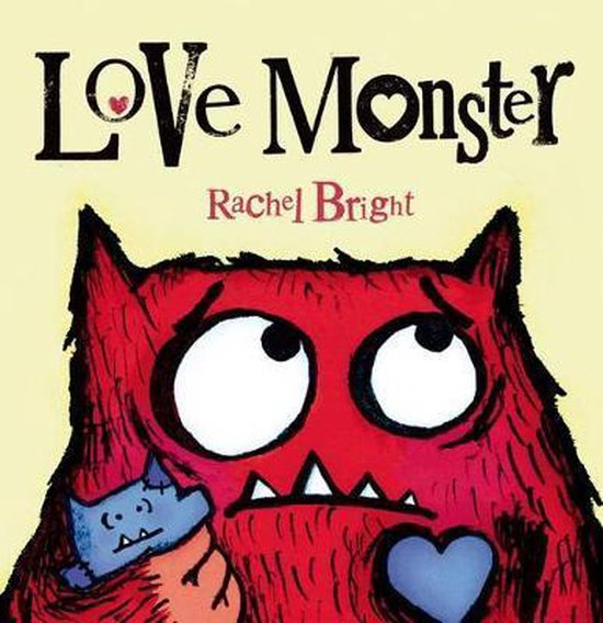 Boek cover Love Monster van Rachel Bright (Hardcover)