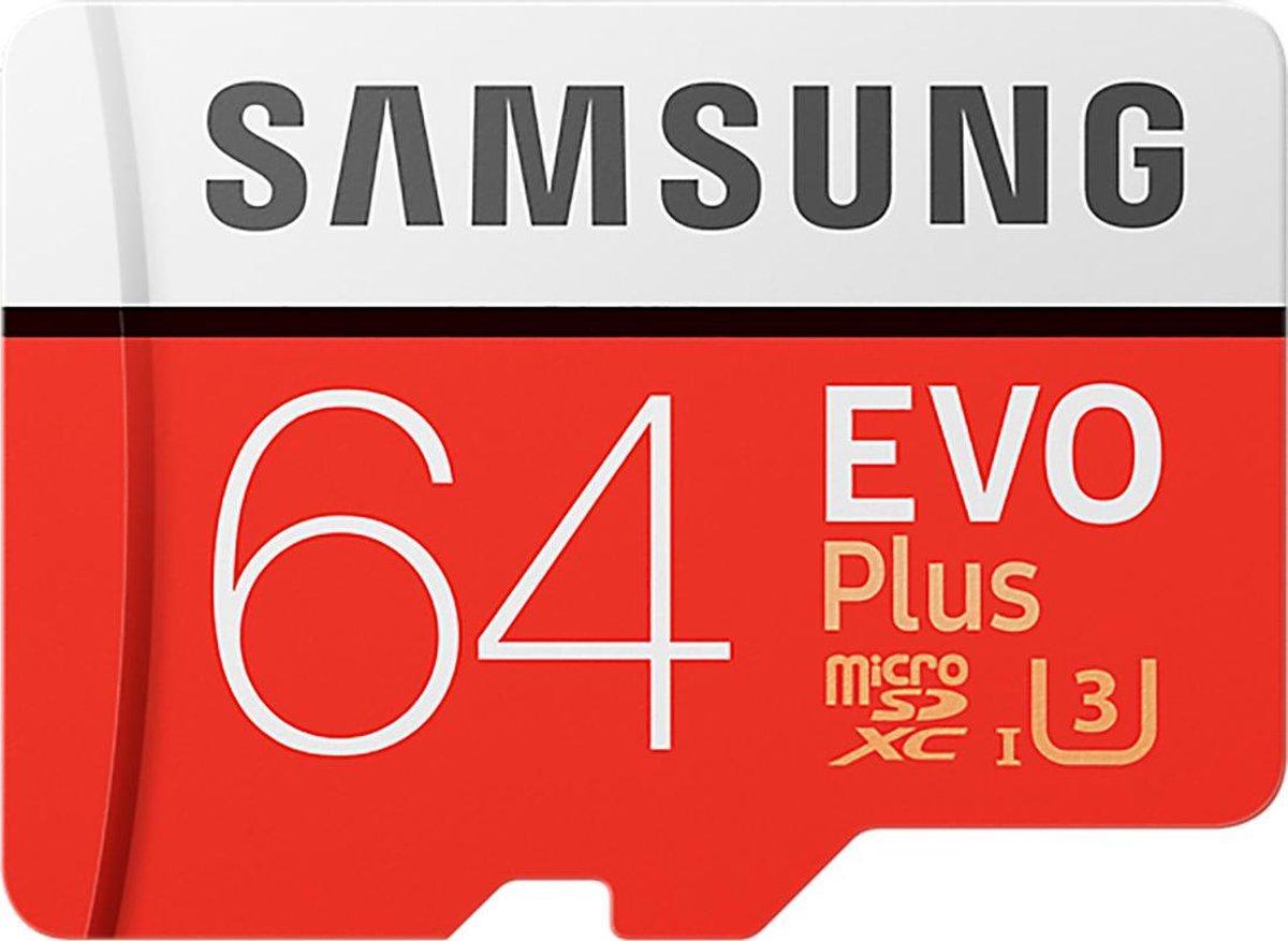 Samsung Evo Plus MicroSDXC 64GB - met adapter