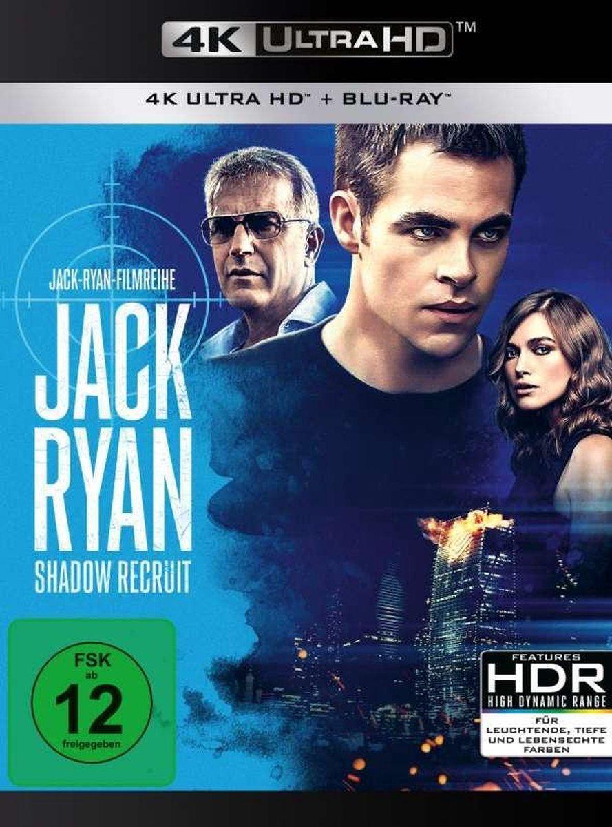 Jack Ryan: Shadow Recruit (Ultra HD Blu-ray & Blu-ray)-