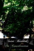 Saint Bernard on Consideration