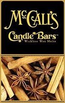 McCall's Candles 6 Candles Bars Sugar & Spice