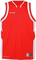 Spalding All-Star basketbal Tanktop - maat L - rood/wit