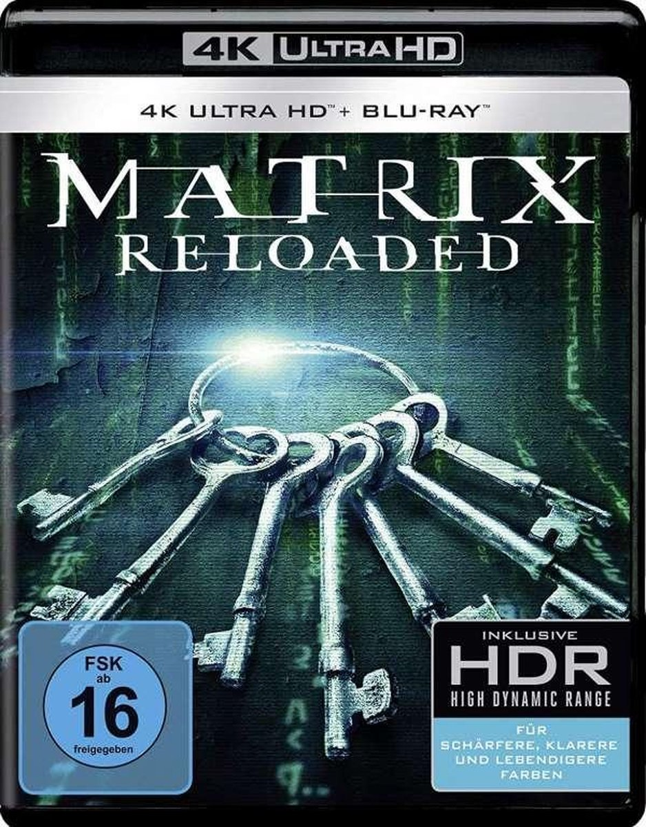Matrix Reloaded (Ultra HD Blu-ray & Blu-ray)-