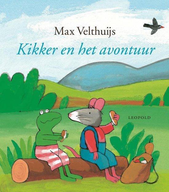 Boek cover Kikker en het avontuur van Max Velthuijs