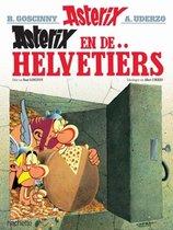 Boek cover Asterix 16. Asterix en de Helvetiers van Albert Uderzo (Onbekend)