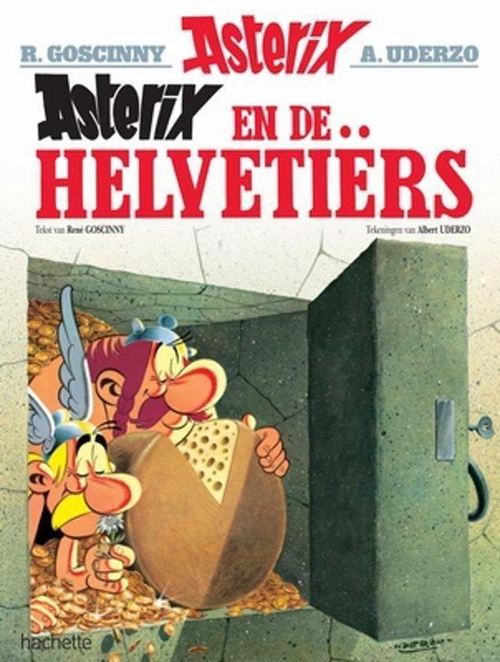 Boek cover Asterix 16. Asterix en de Helvetiers van Albert Uderzo (Paperback)