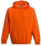 Awdis Sweater Electric Orange Junior Maat 104