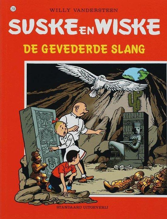 Cover van het boek 'De gevederde slang'