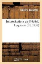 Improvisations de Frederic Lequesne