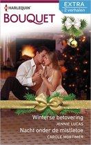 Bouquet Extra 405 - Winterse betovering ; Nacht onder de mistletoe (2-in-1)